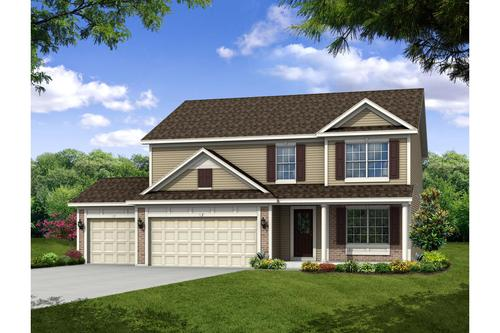 Centennial by Olthof Homes in Gary Indiana