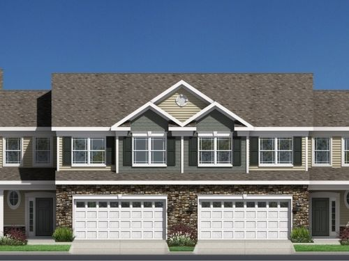 Townes at WoodCreek by Orleans Homes in Raleigh-Durham-Chapel Hill North Carolina