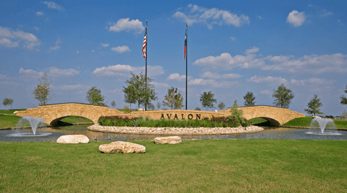 Avalon by Pacesetter Homes in Austin Texas