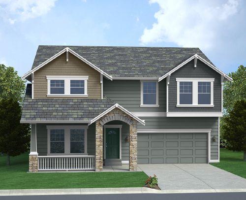 CreekWalk by Pacific Ridge Homes in Seattle-Bellevue Washington