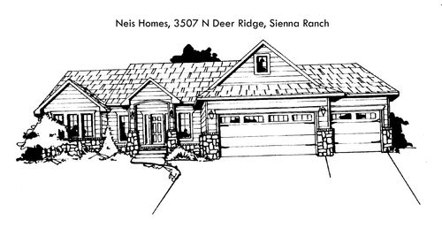 Sienna Ranch - Entry 104 by Nies Homes Inc. in Wichita Kansas
