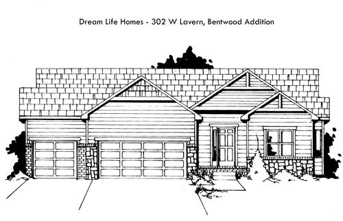 Bentwood Addition - Entry 7 by Dream Life Homes in Wichita Kansas