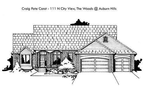 The Woods at Auburn Hills - Entry 9 by Craig Pate Construction, LLC in Wichita Kansas