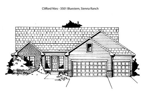 Sienna Ranch- Entry 103 by Nies Homes Inc. in Wichita Kansas