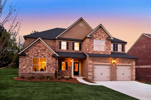 The Lakes at Franklin Goldmine by Paran Homes in Atlanta Georgia