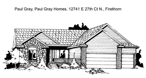 Firethorne - Entry 72 by Paul Gray Homes in Wichita Kansas