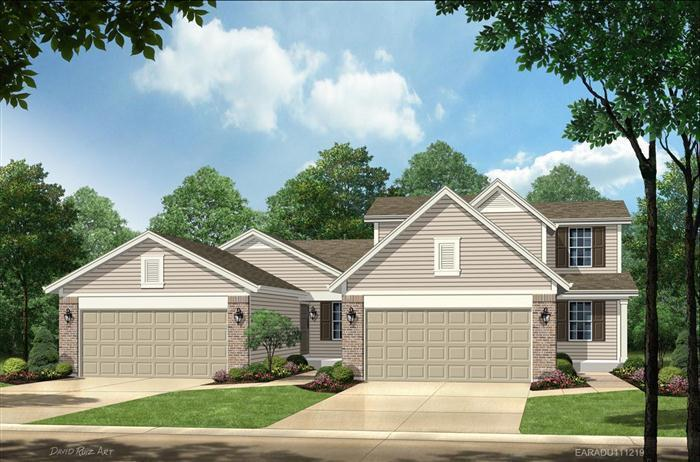 Earhart - The Pointe at Heritage Crossing-Villas: Saint Peters, MO - Payne Family Homes