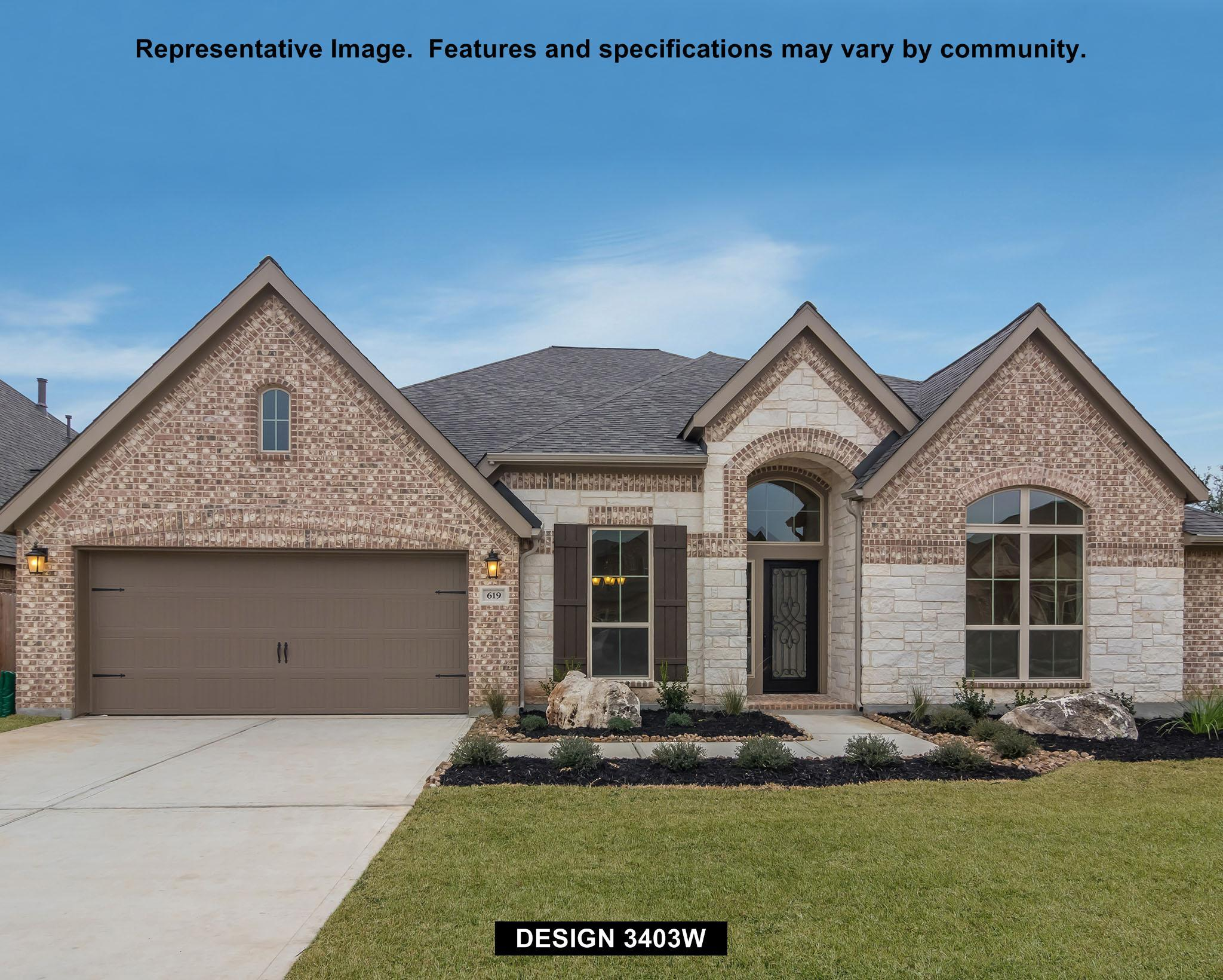 3403W - Cross Creek Ranch: Cross Creek Ranch 65': Fulshear, TX - Perry Homes