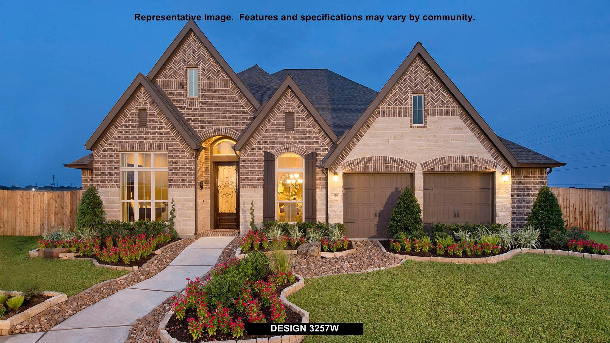 3257W - Southlake 60': Pearland, TX - Perry Homes