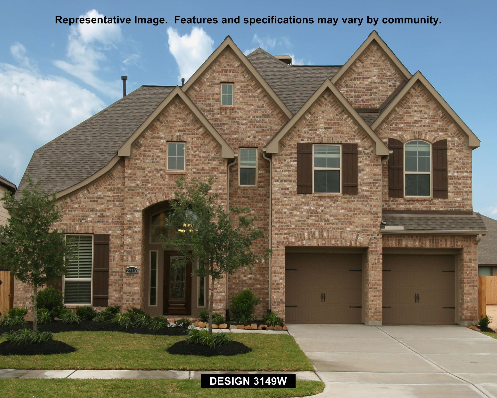 3149W - Pine Mill Ranch 55': Katy, TX - Perry Homes