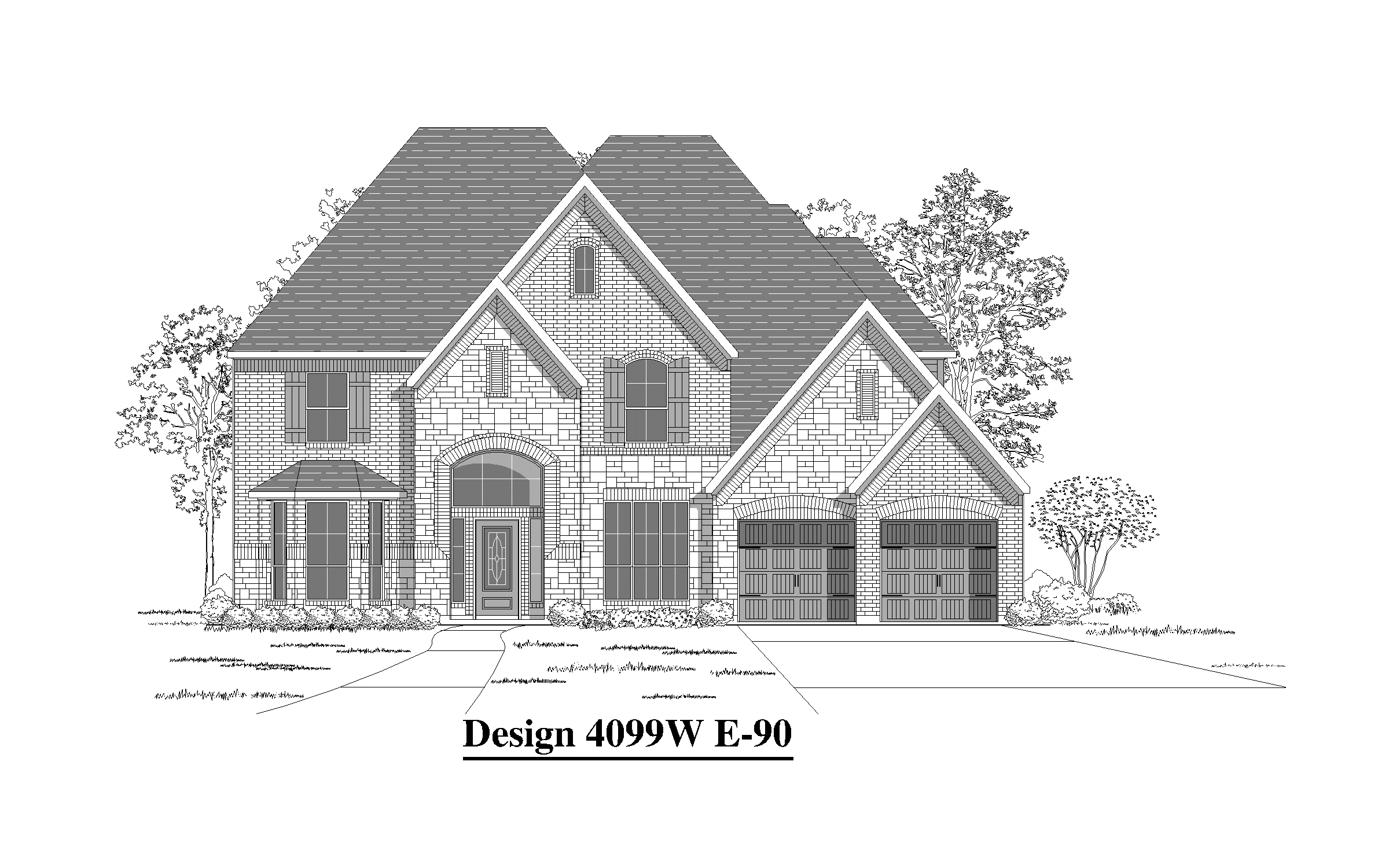 4099W - Oak Run In New Braunfels: New Braunfels, TX - Perry Homes
