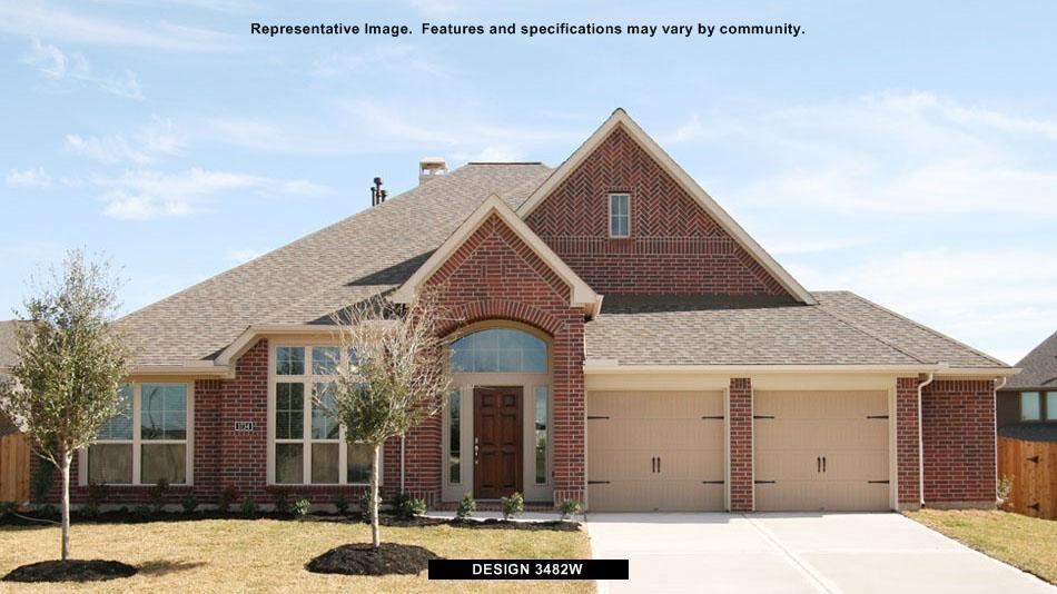 3482W - Creekmont 60': Fresno, TX - Perry Homes