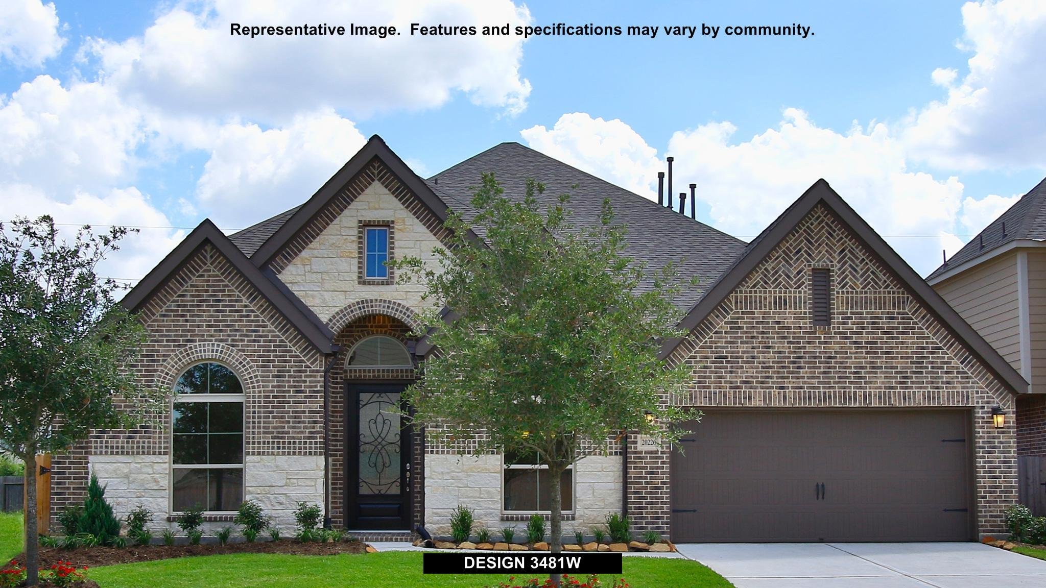 3481W - Creekmont 60': Fresno, TX - Perry Homes
