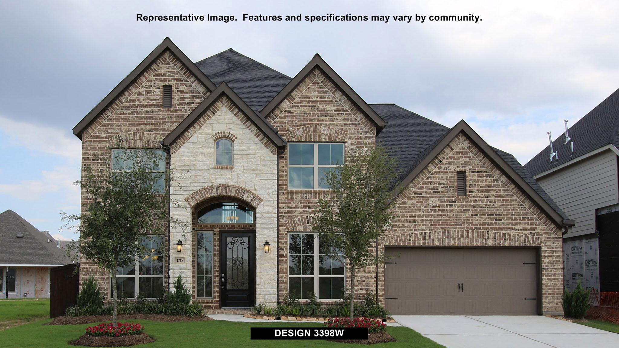 3398W - Southlake 60': Pearland, TX - Perry Homes