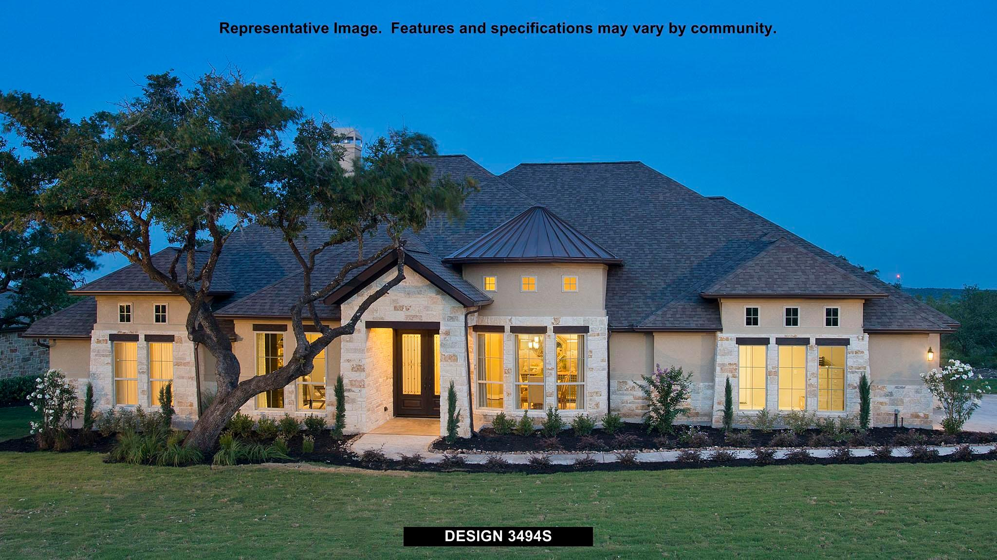 3494S - The Preserve Of Mission Valley: New Braunfels, TX - Perry Homes