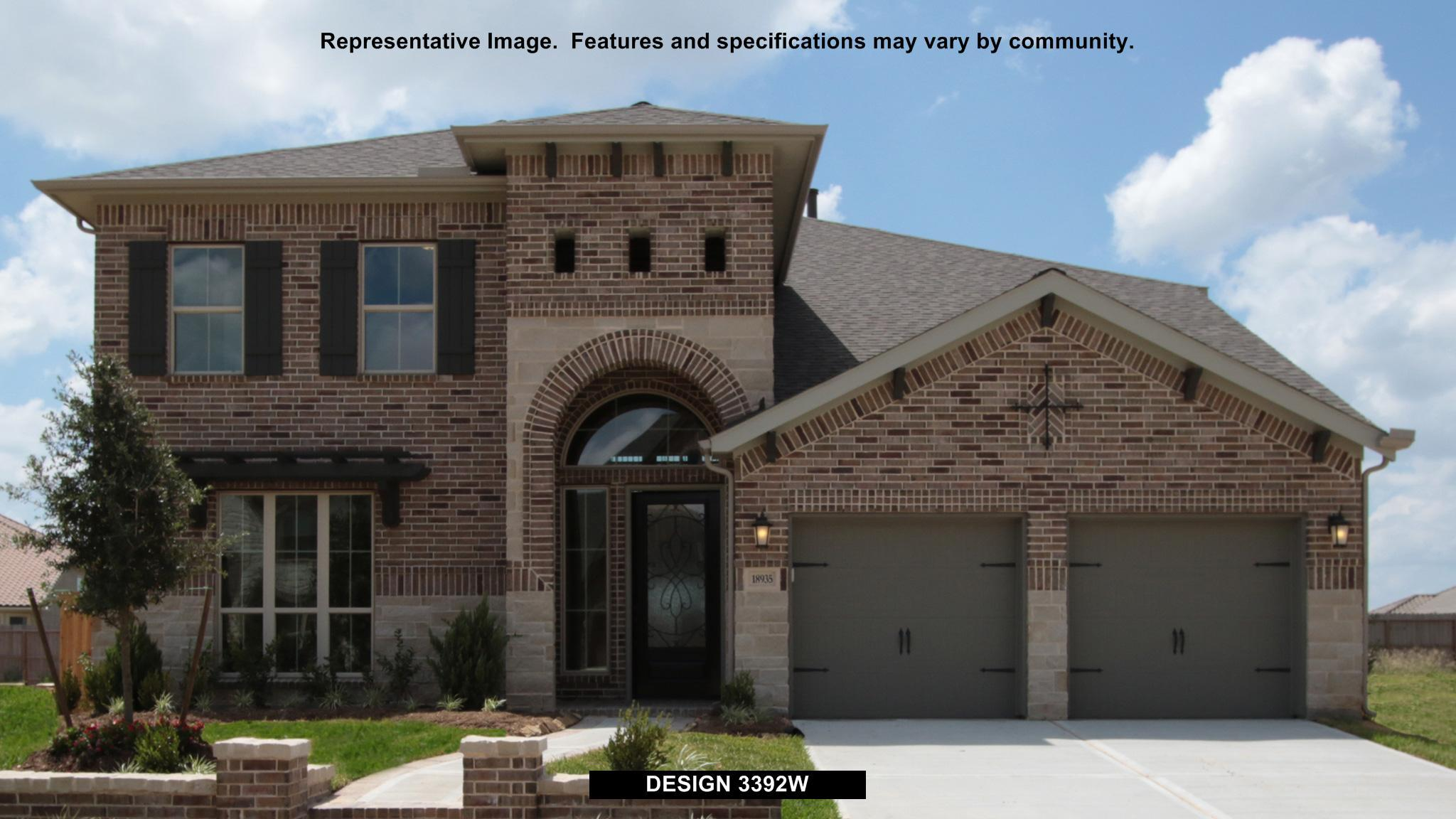 3392W - Southern Trails 61': Pearland, TX - Perry Homes