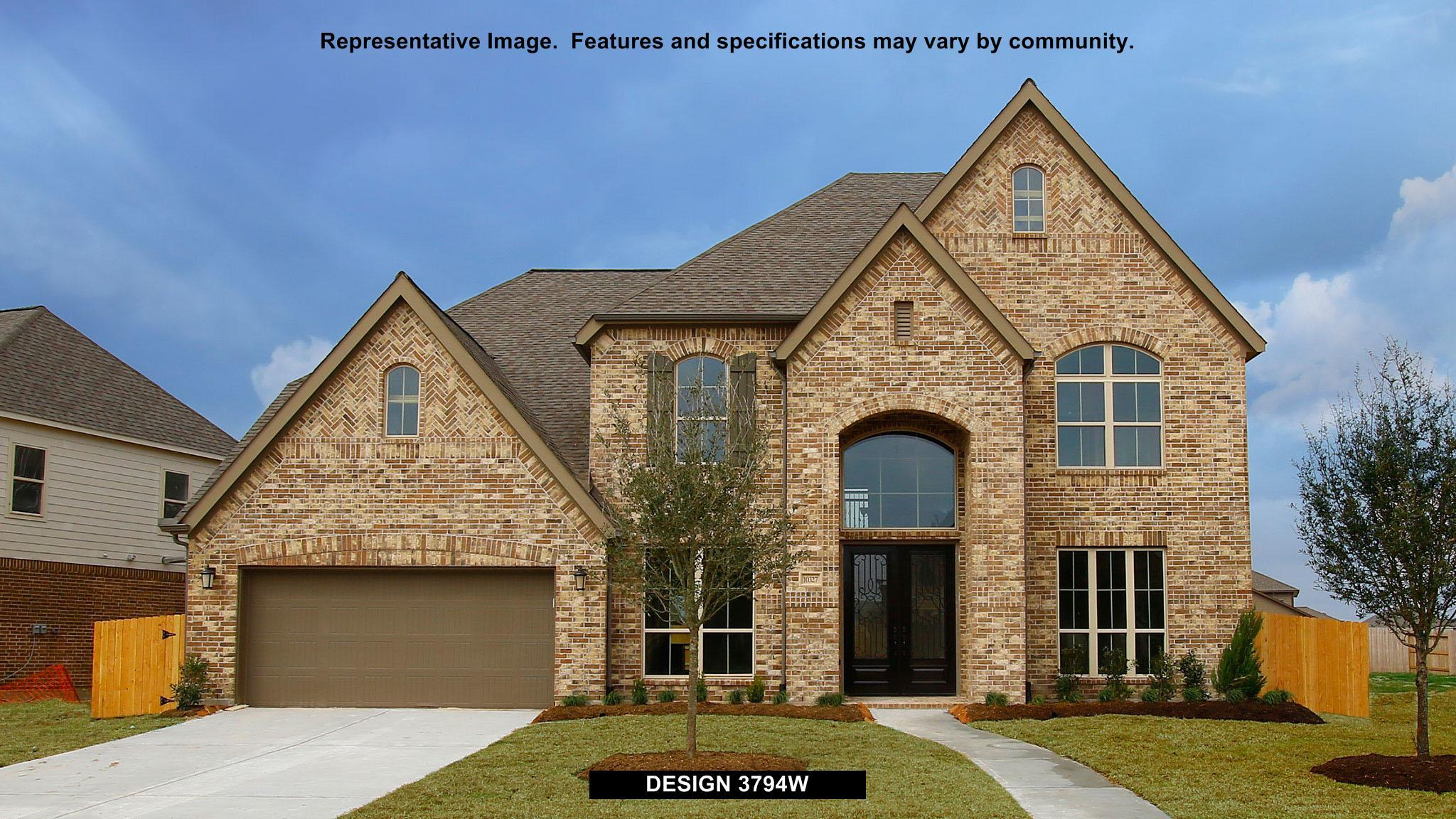 3794W - Southlake 65': Pearland, TX - Perry Homes