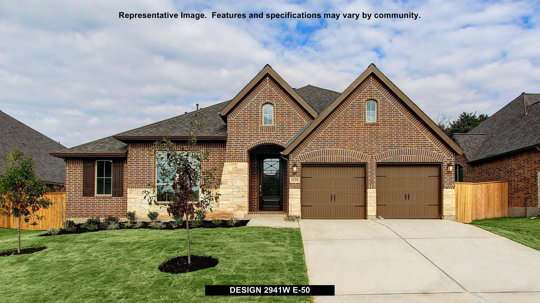 2941W - Shadow Creek Ranch - Edgewater 60': Pearland, TX - Perry Homes