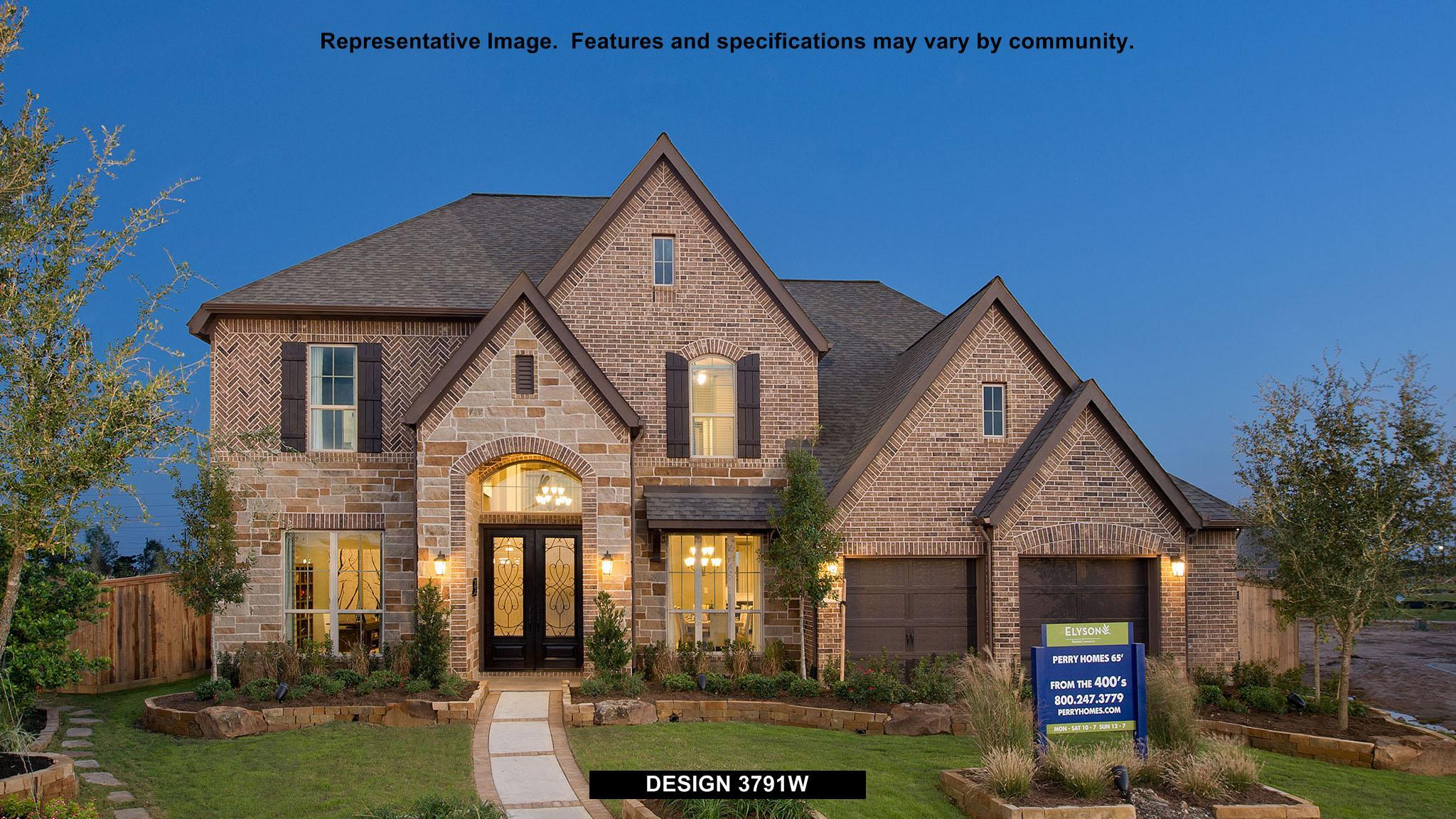 3791W - Southlake 65': Pearland, TX - Perry Homes
