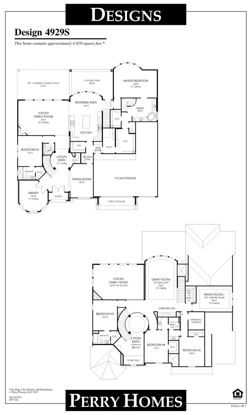 Benders Landing Estates: Benders Landing Estates - The Reserve by Perry Homes in Houston Texas