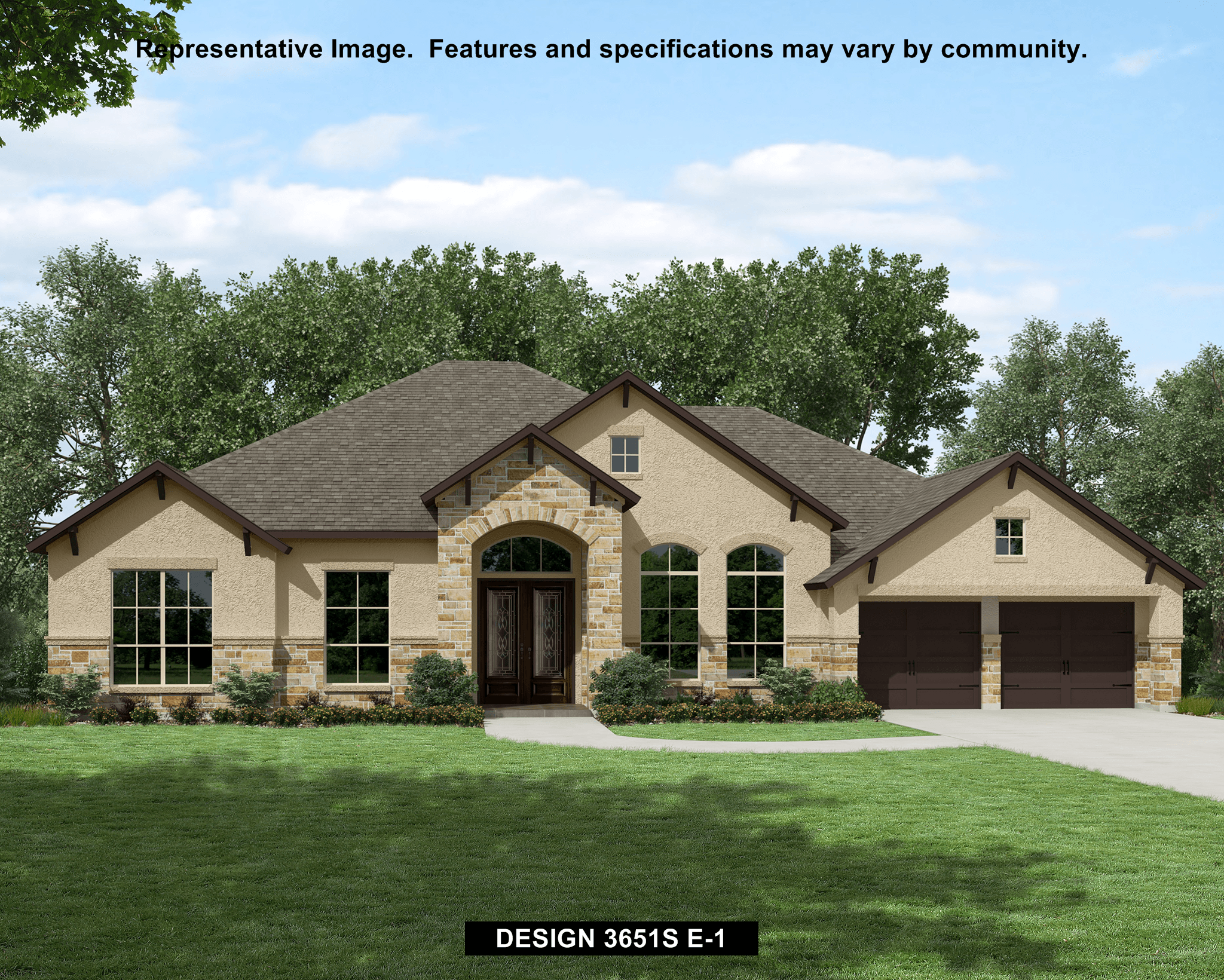 3651S - The Preserve Of Mission Valley: New Braunfels, TX - Perry Homes