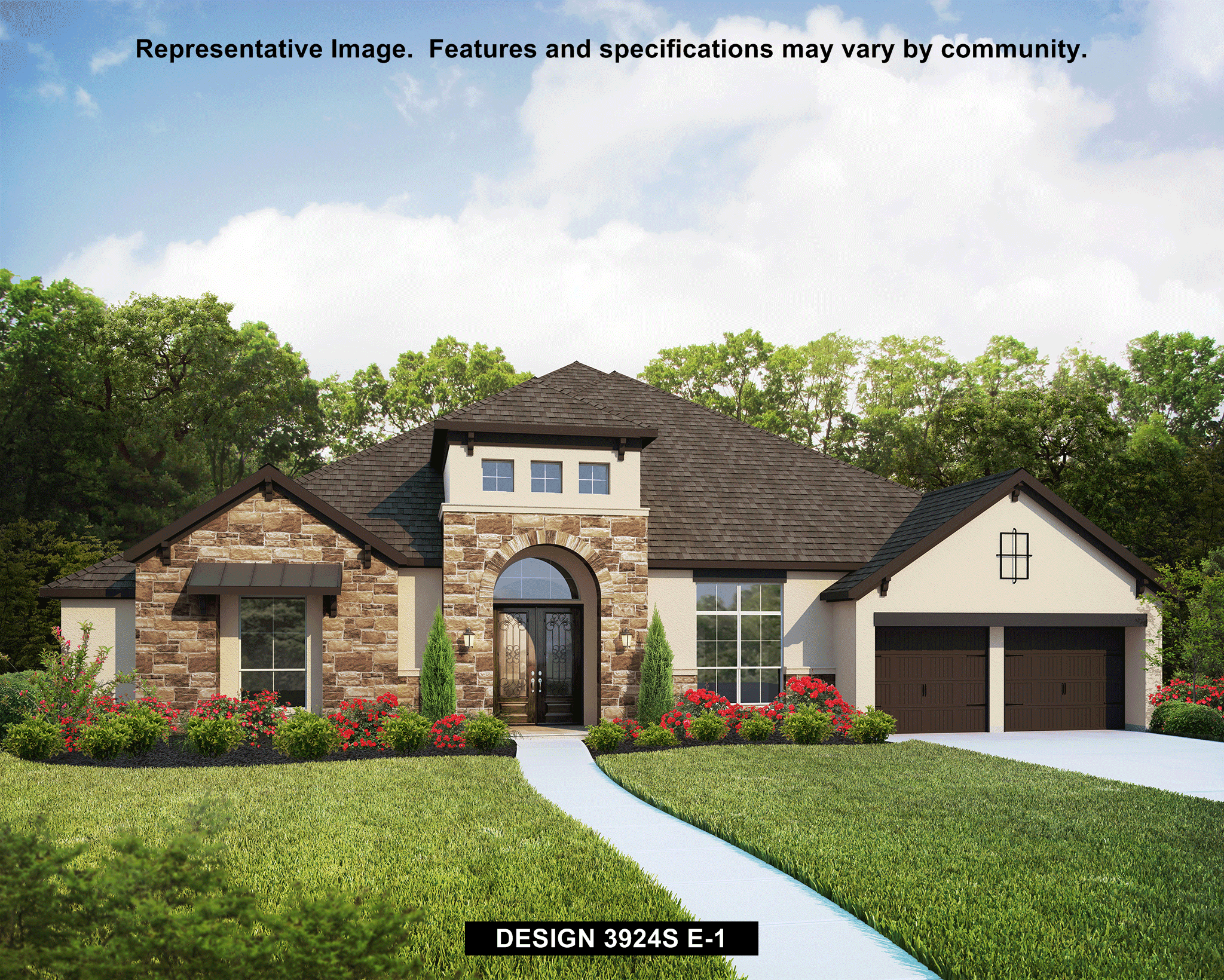 3924S - The Preserve Of Mission Valley: New Braunfels, TX - Perry Homes