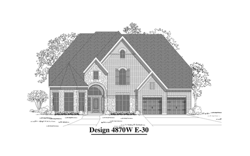 Pine Mill Ranch 70' by Perry Homes in Houston Texas