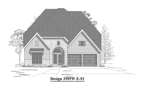 Riverstone 55' by Perry Homes in Houston Texas