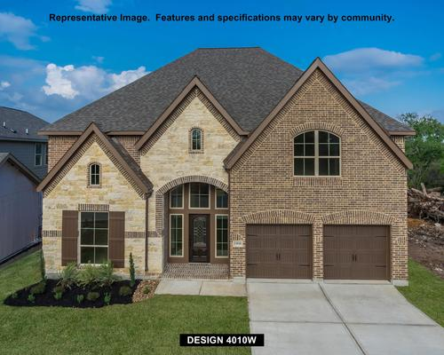 Southern Trails 61' by Perry Homes in Houston Texas