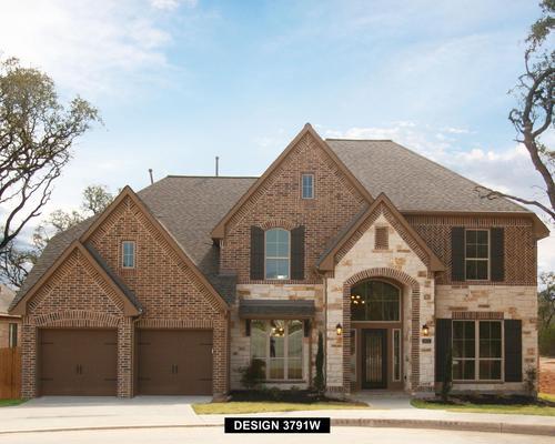 Bella Vista 65' by Perry Homes in San Antonio Texas