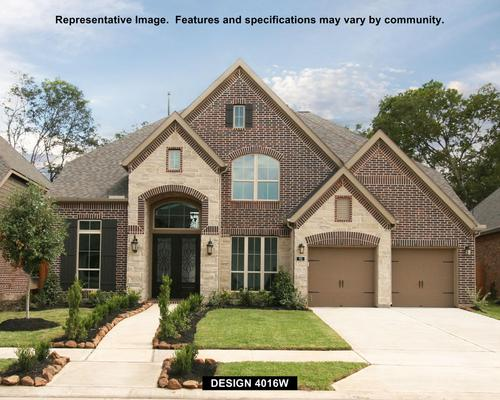 Firethorne: Firethorne 60' by Perry Homes in Houston Texas