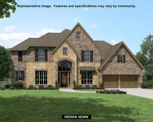 Southlake: Southlake 75' - Waterfront Series by Perry Homes in Houston Texas