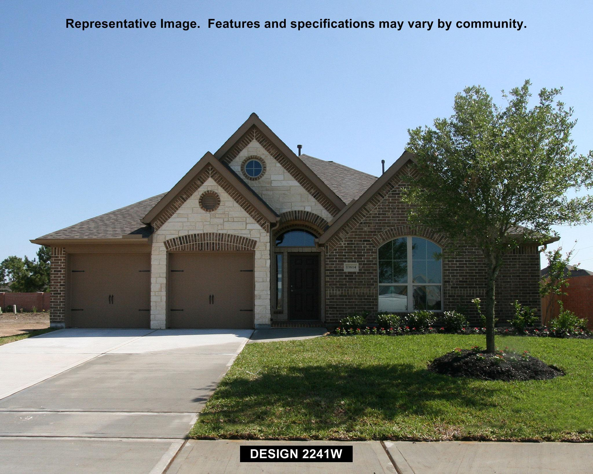 2241W - Riverstone 55': Sugar Land, TX - Perry Homes