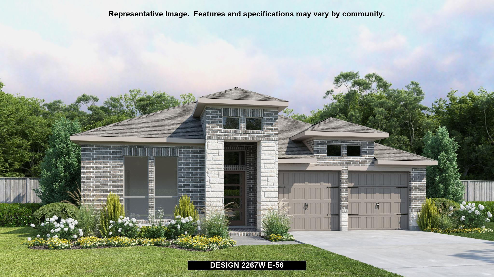 2267W - Firethorne 50': Katy, TX - Perry Homes