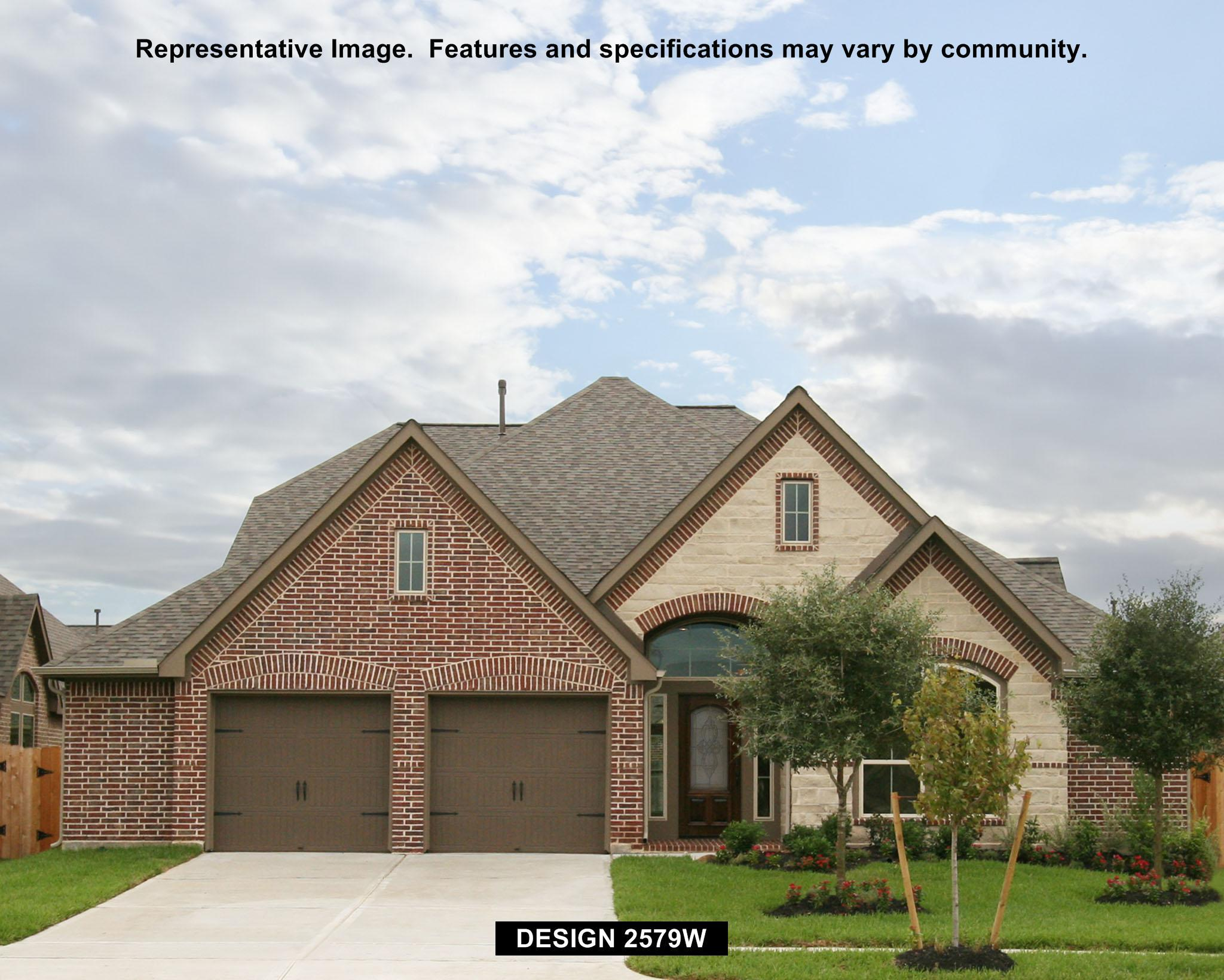 2579W - Creekmont 60': Fresno, TX - Perry Homes
