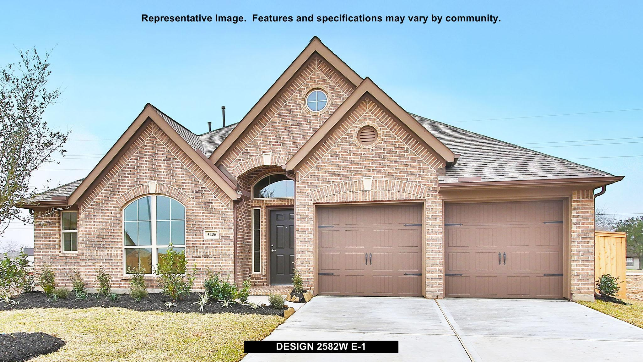 2582W - Southern Trails 61': Pearland, TX - Perry Homes