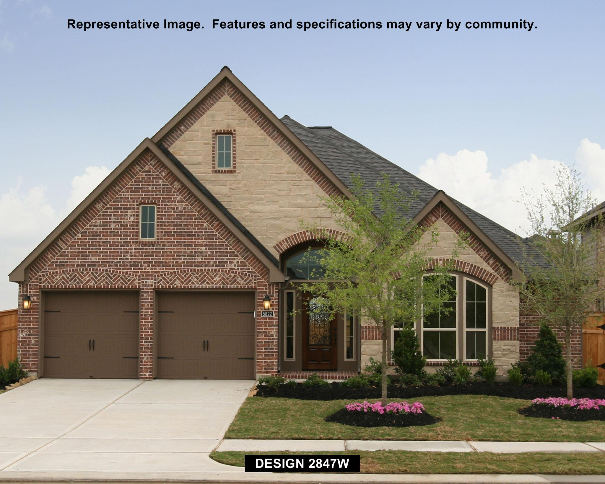 2847W - Cinco Ranch: Cinco Ranch 55': Katy, TX - Perry Homes