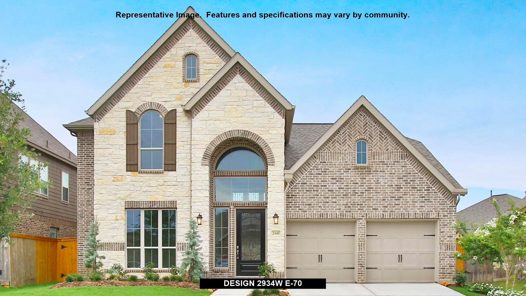 2934W - Southern Trails 61': Pearland, TX - Perry Homes