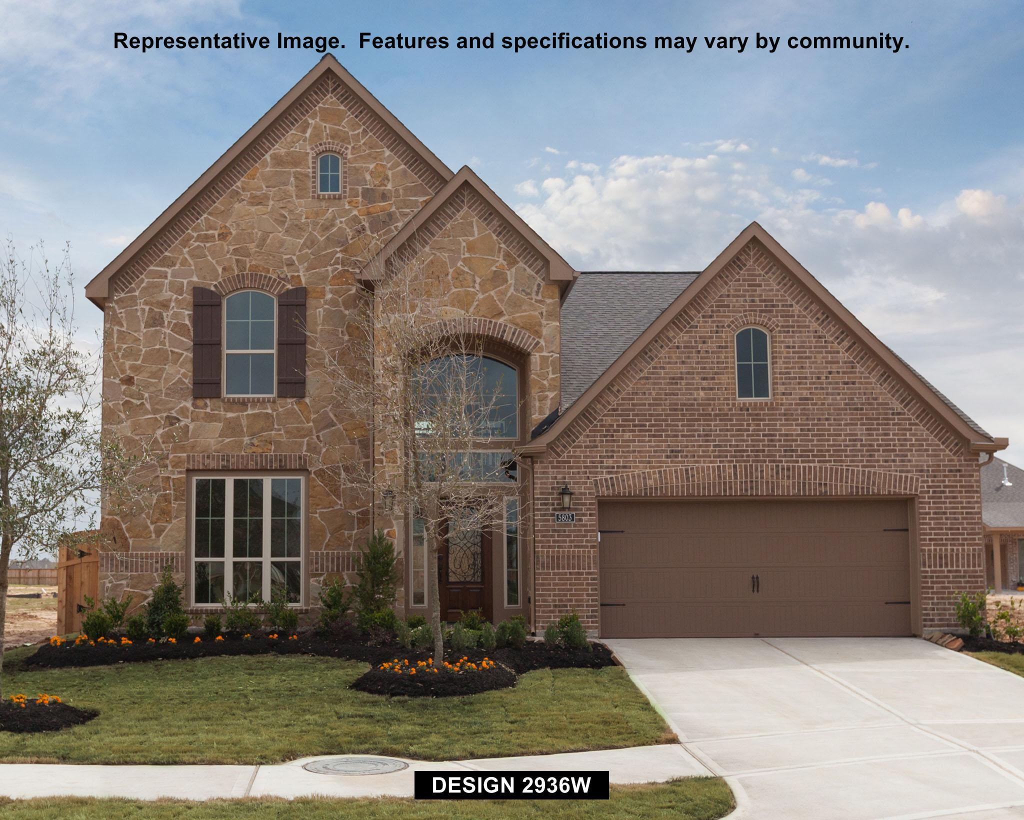 2936W - Southern Trails 61': Pearland, TX - Perry Homes