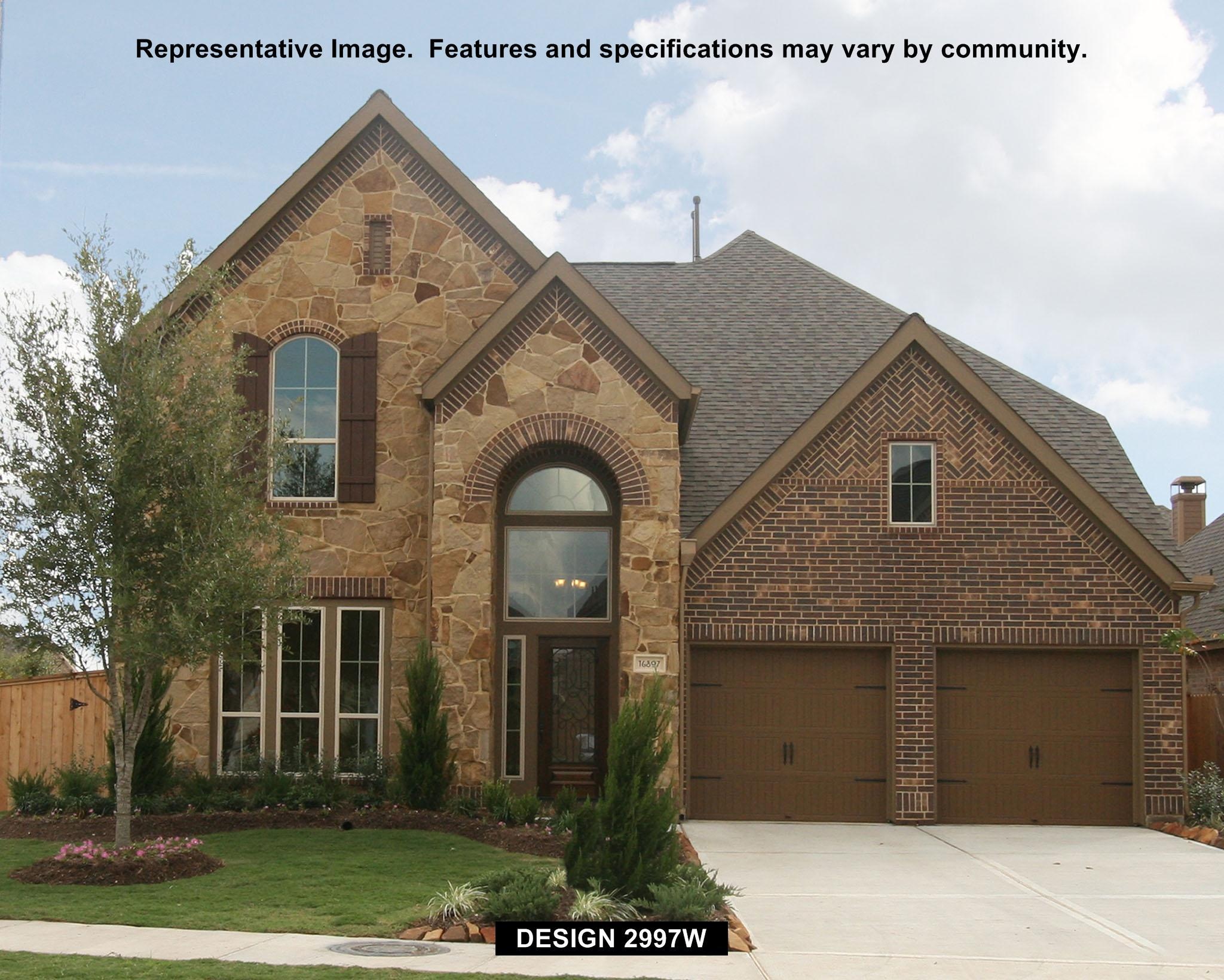 2997W - Mill Creek Crossing 70': Seguin, TX - Perry Homes