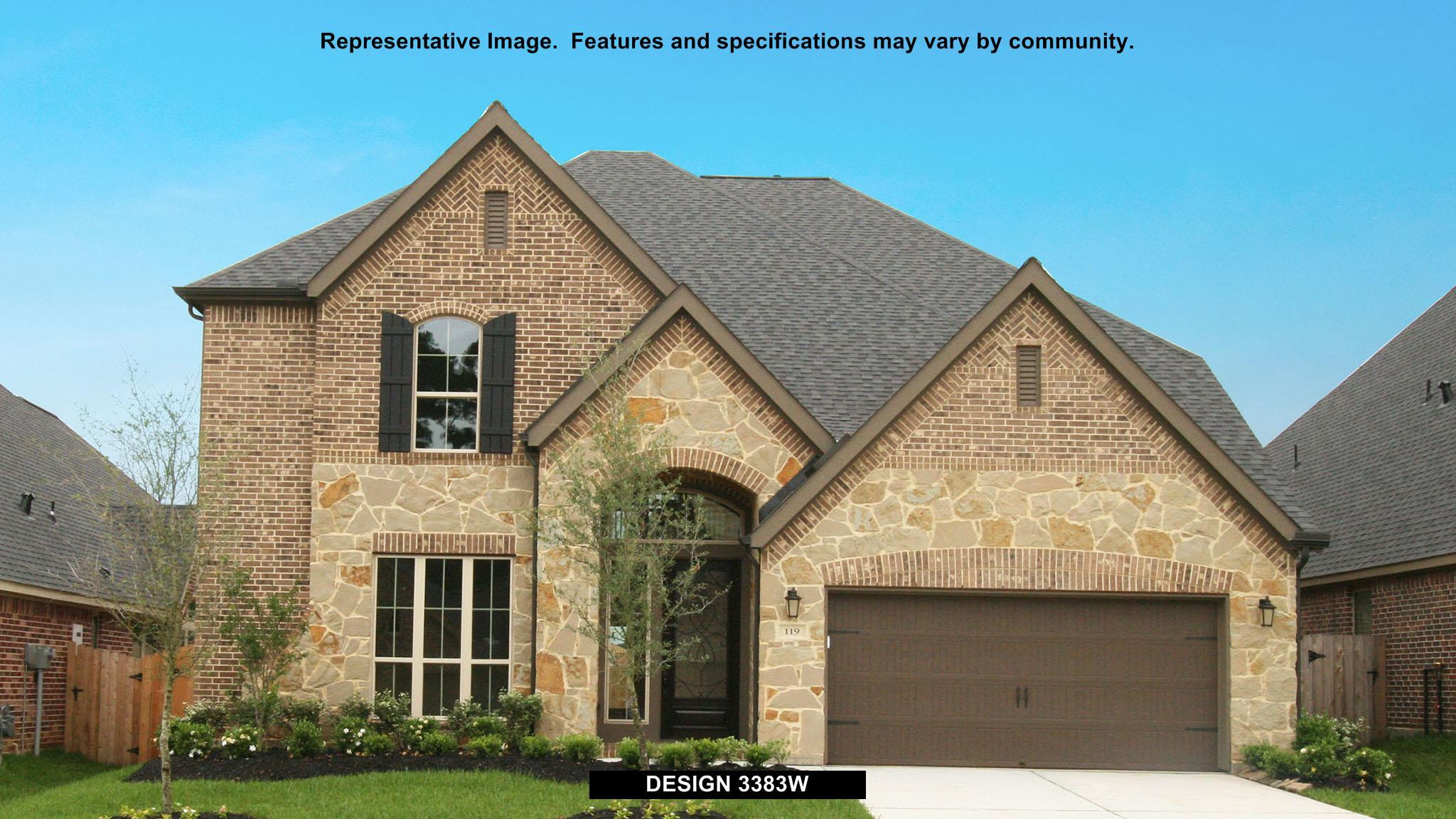 3383W - Pine Mill Ranch 55': Katy, TX - Perry Homes