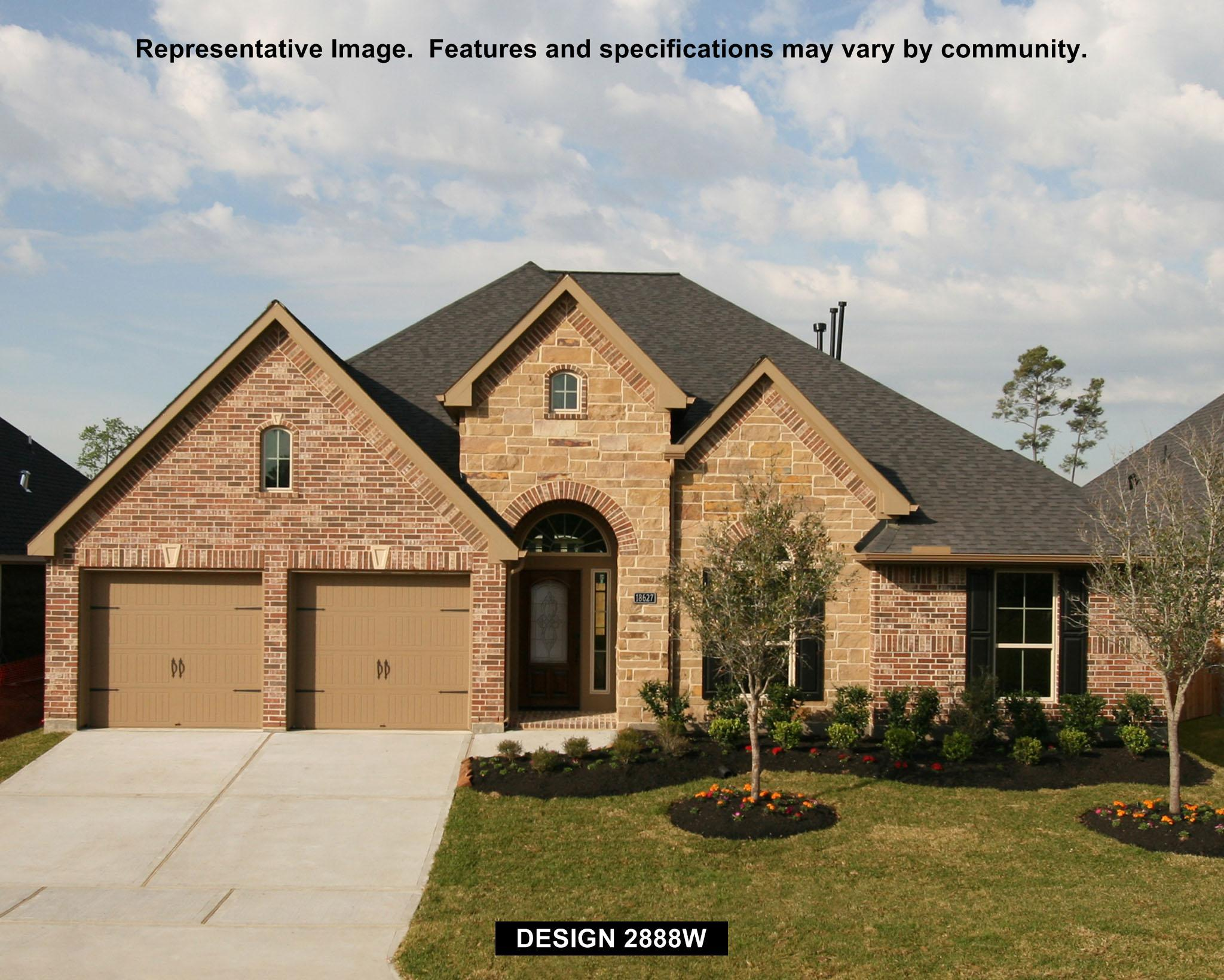 2888W - Firethorne: Firethorne 60': Katy, TX - Perry Homes