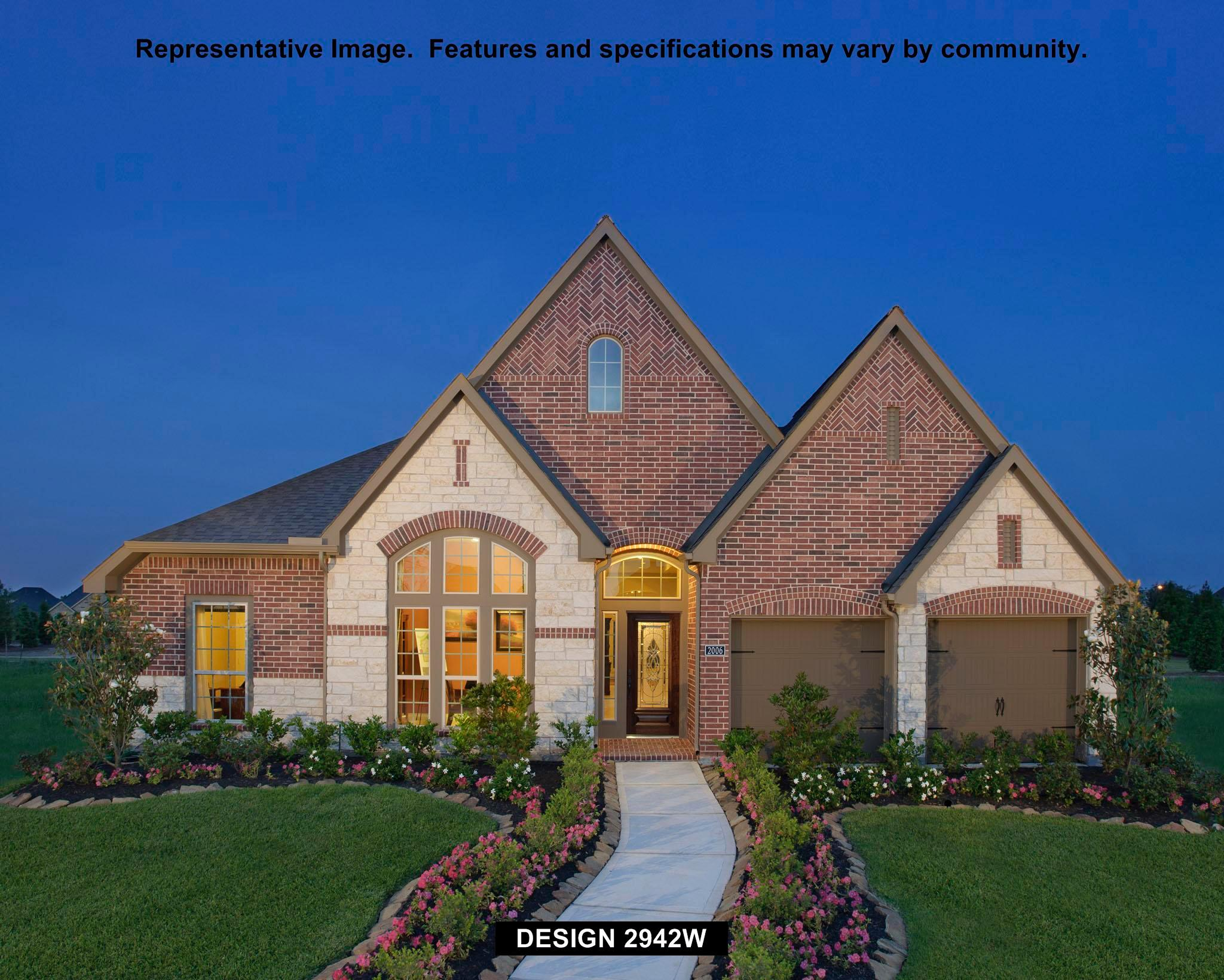 2942W - Shadow Creek Ranch - Edgewater 60': Pearland, TX - Perry Homes
