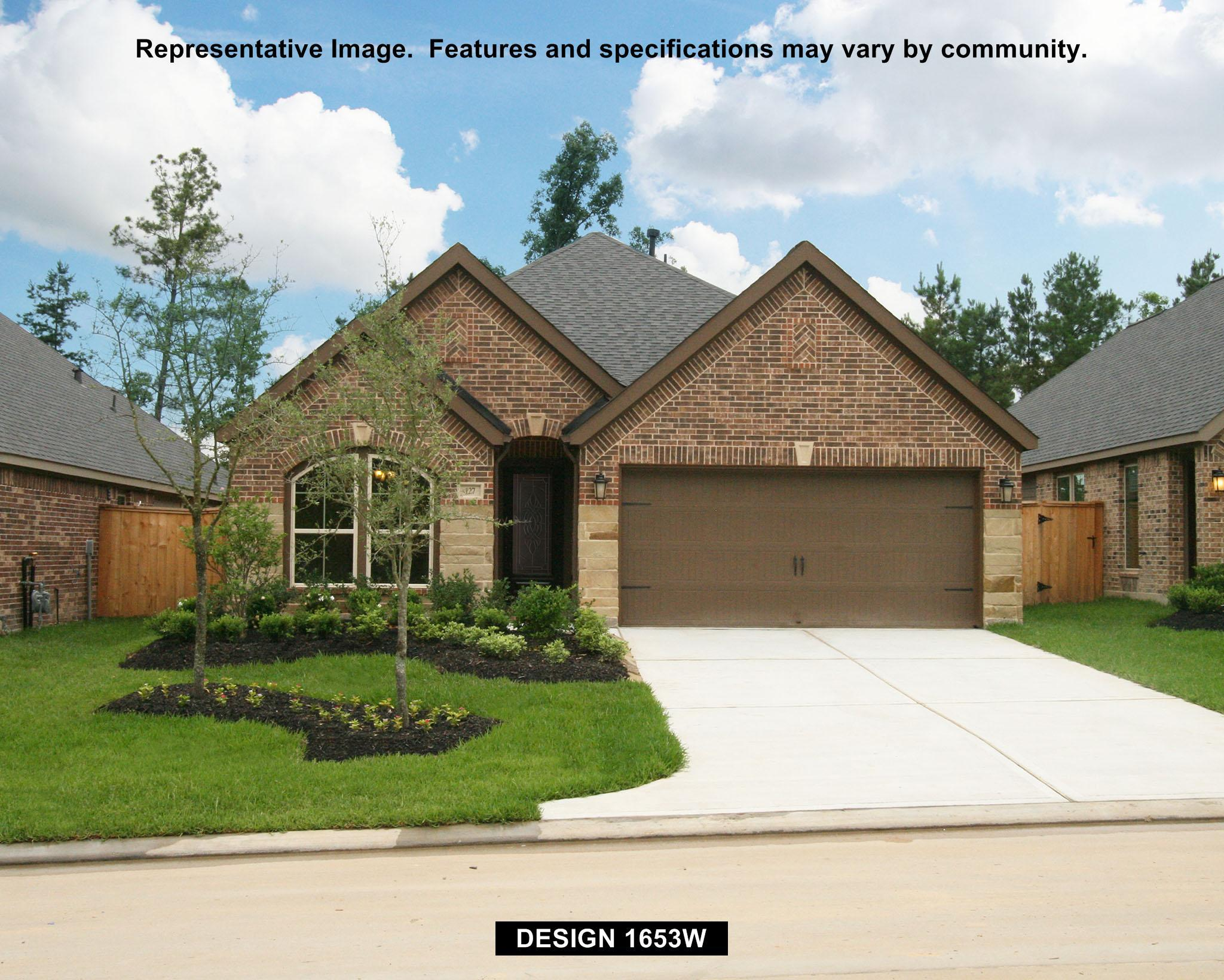 1653W - Westheimer Lakes 50': Richmond, TX - Perry Homes