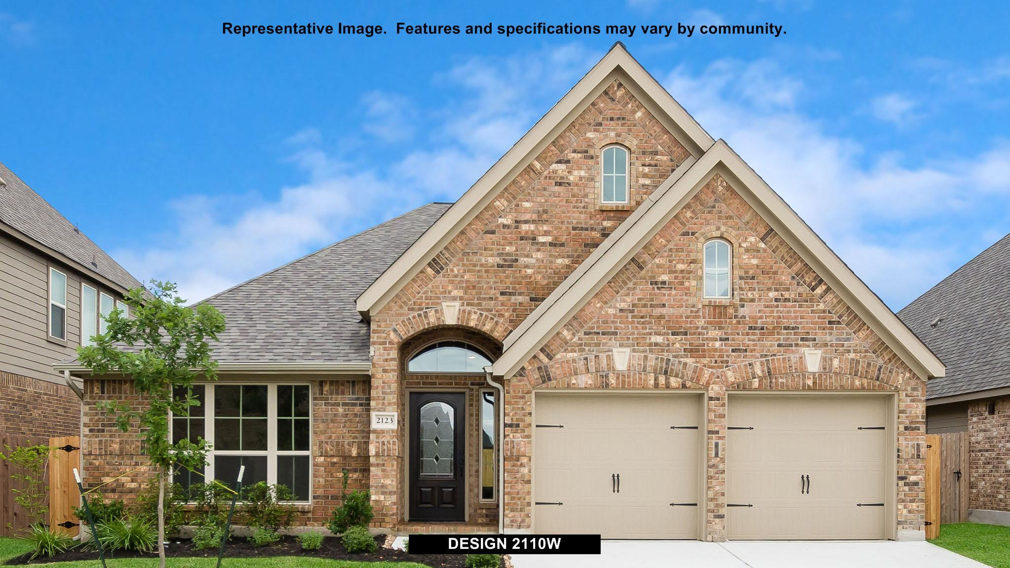 2110W - Woodforest 50': Montgomery, TX - Perry Homes