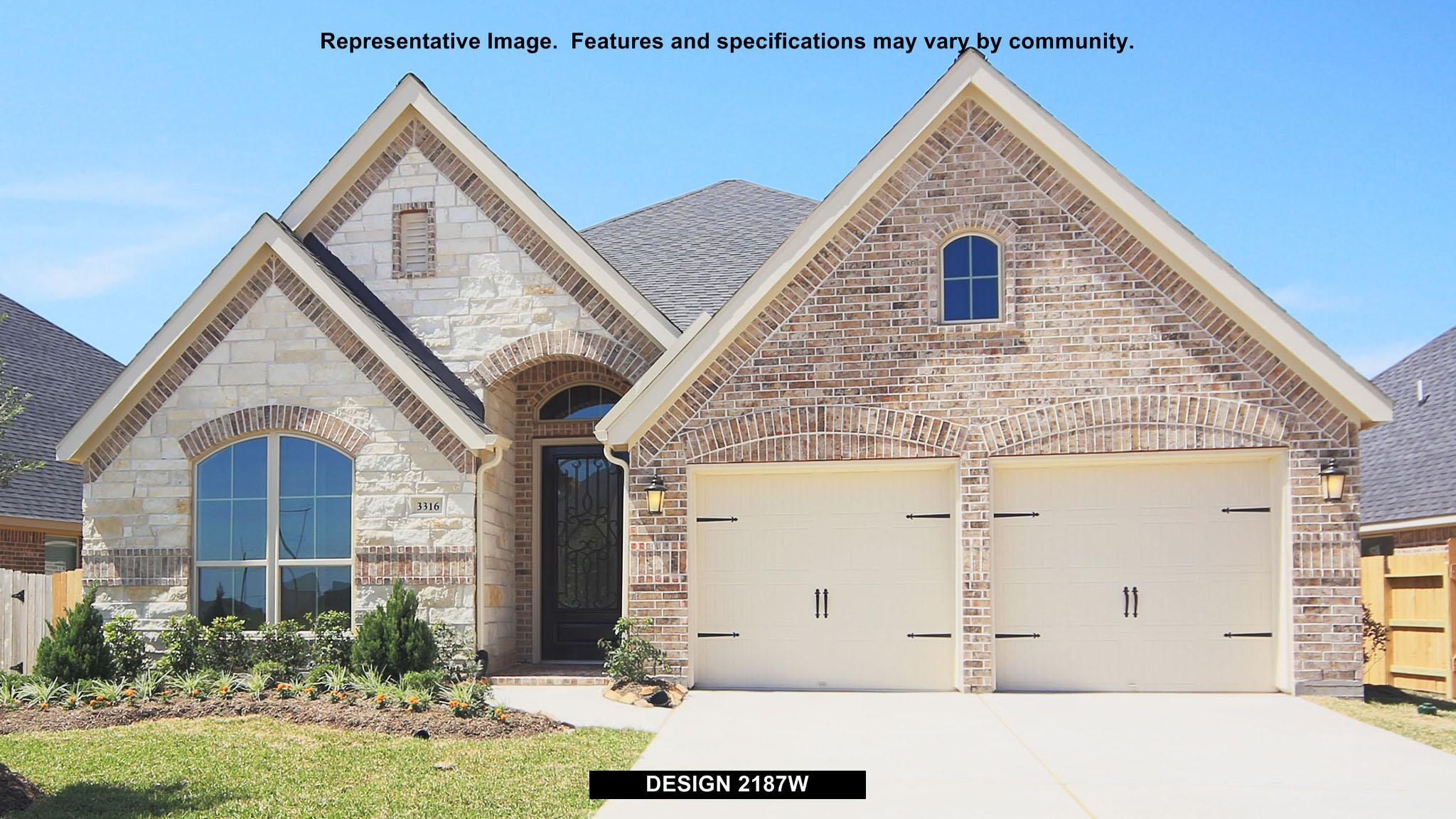 2187W - River Park West 50': Richmond, TX - Perry Homes