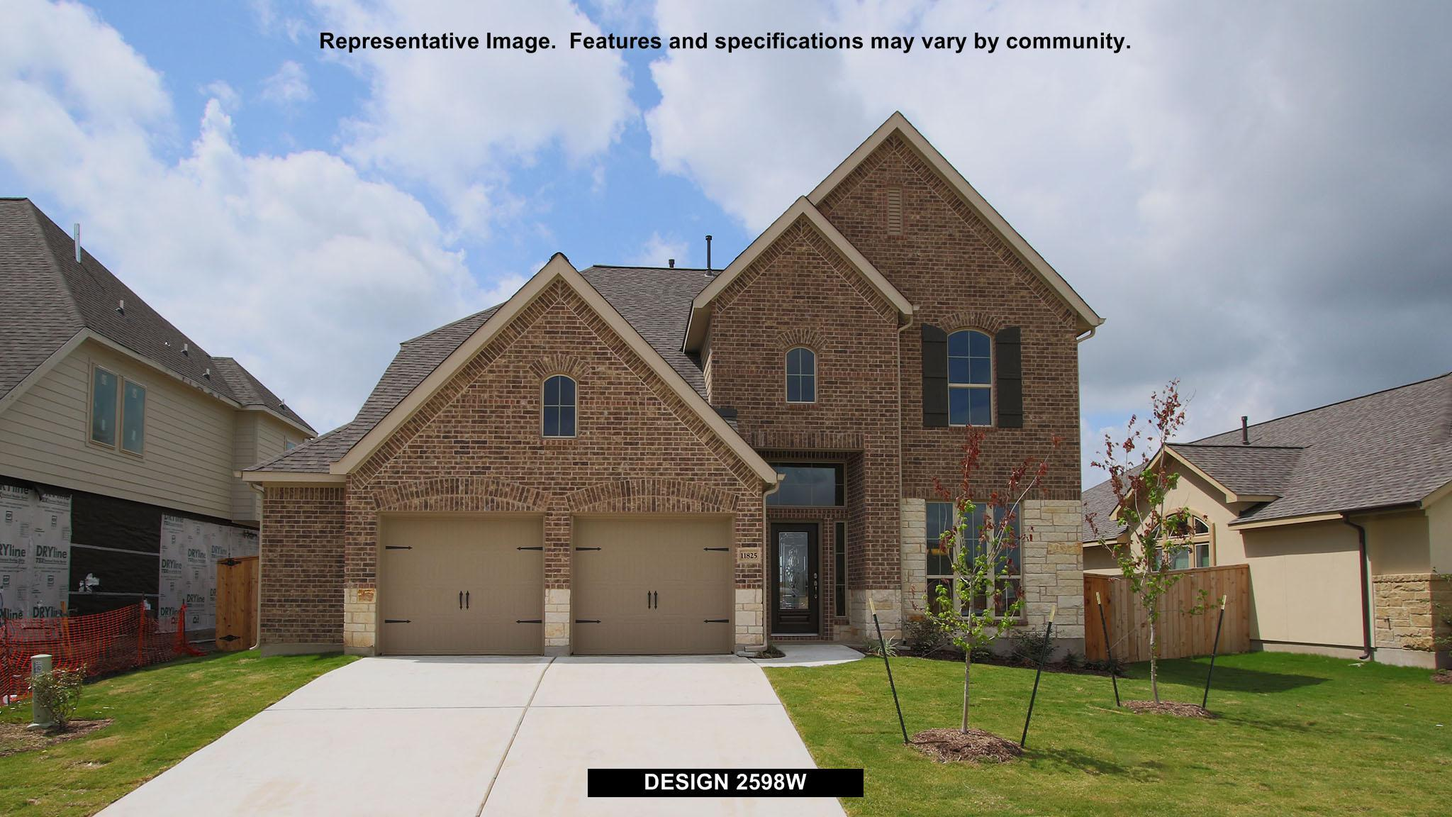 2598W - Creekmont 50': Fresno, TX - Perry Homes