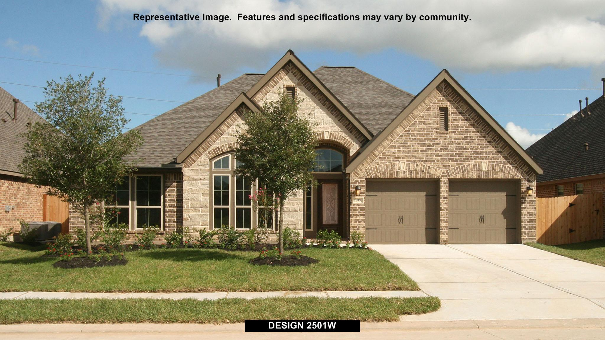 2501W - Creekmont 60': Fresno, TX - Perry Homes