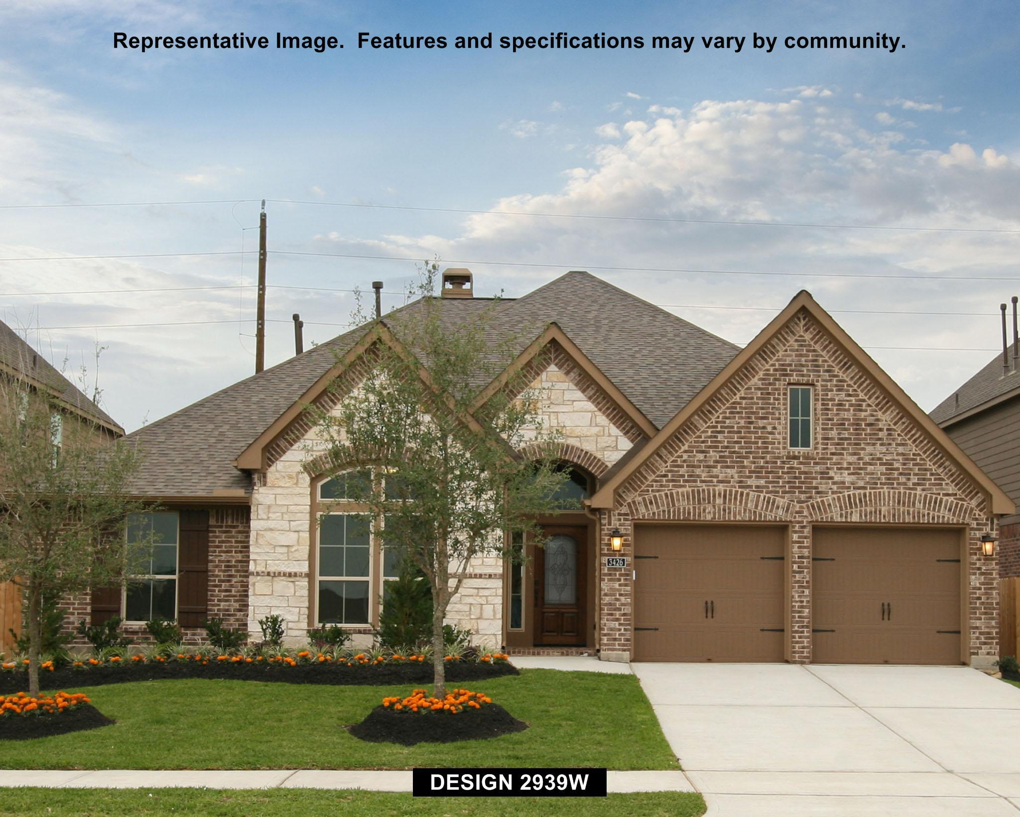 2939W - Shadow Creek Ranch: Edgewater 60': Pearland, TX - Perry Homes