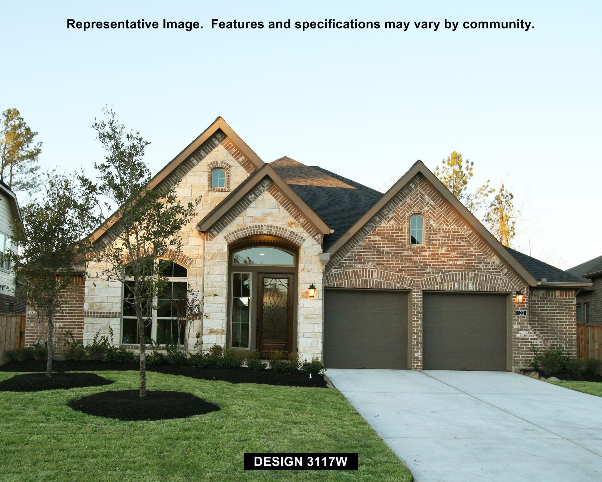 3117W - Southern Trails 70': Pearland, TX - Perry Homes